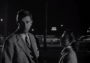 Sterling Hayden and Coleen Gray in The Killing