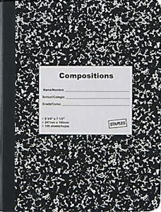 A recognizable notebook