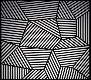 Wall Drawing #565 by Sol LeWitt