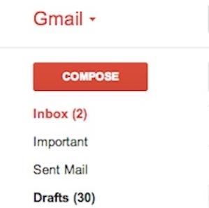 My Gmail inbox