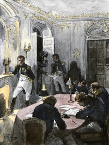 Napoleon Dictating to his Secretaries
