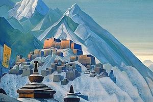 Tibet by Nicholas Roerich