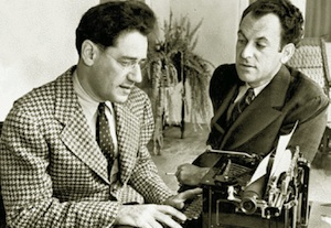 George S. Kaufman and Moss Hart