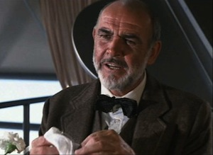 Sean Connery in Indiana Jones and the Last Crusade
