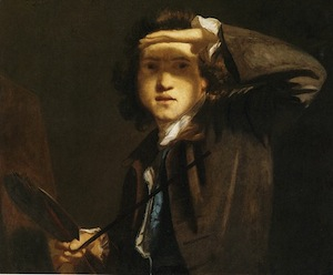 Self portrait by Sir Joshua Reynolds