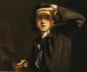 Self portrait by Sir Joshua Reynolds