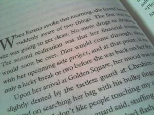 """When Renata awoke that morning..."""