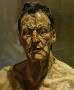Reflection by Lucian Freud