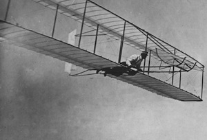 The Wright brothers' plane