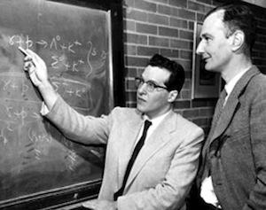 Julian Schwinger and Paul Taunton Matthews
