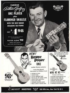 Arthur Godfrey's ukulele
