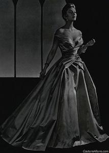 Patou ball gown, 1954