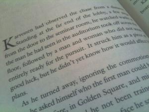 """Karvonen had observed the chase..."""
