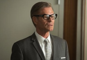 Harry Hamlin on Mad Men