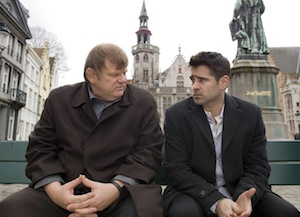 Brendan Gleeson and Colin Farrell in In Bruges
