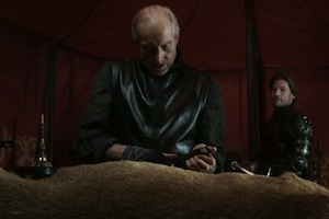 Charles Dance on Game of Thrones