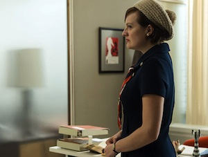 Elizabeth Moss on Mad Men
