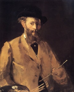 Self-portrait by Édouard Manet