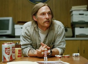 Matthew McConaughey on True Detective