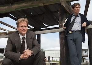 Woody Harrelson and Matthew McConaughey on True Detective