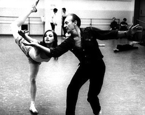 Suzanne Farrell and Geoge Balanchine