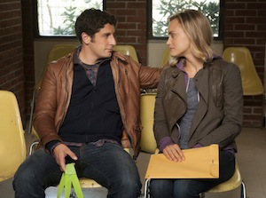 Jason Biggs and Taylor Schilling on Orange is the New Black