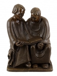 Reading Monks by Ernst Barlach