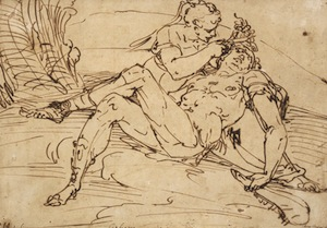 Samson and Delilah by Luca Cambiaso