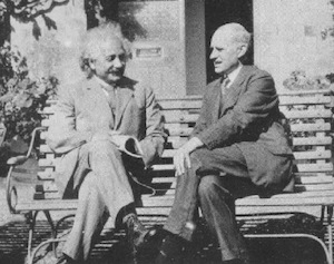 Albert Einstein and Arthur Eddington