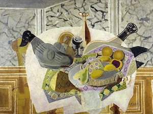 The Mauve Tablecloth by Georges Braque