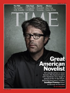Jonathan Franzen in Time Magazine
