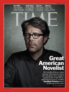 Jonathan Franzen in Time Magazine