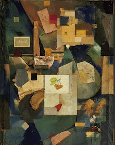 The Cherry Picture by Kurt Schwitters