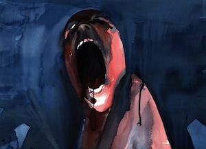 Drawing from Pink Floyd The Wall by Gerald Scarfe