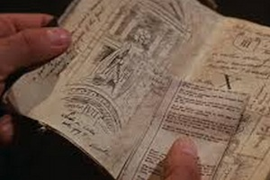 Grail diary from Indiana Jones and the Last Crusade