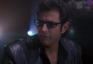 Jeff Goldblum in Jurassic Park
