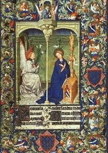 Illuminated manuscript at the Cloisters