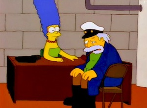 The Sea Captain on The Simpsons