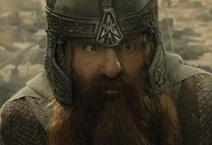 John Rhys-Davies in The Return of the King