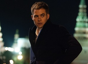 Chris Pine in Jack Ryan: Shadow Recruit