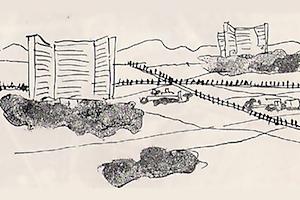 Sketch by Le Corbusier