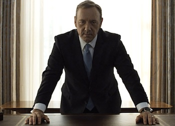 Kevin Spacey on House of Cards