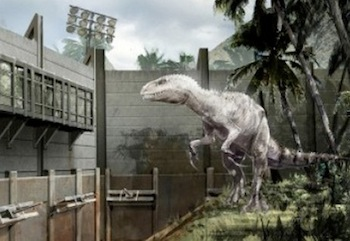 Concept art for Jurassic World