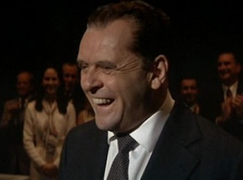 Anthony Hopkins in Nixon