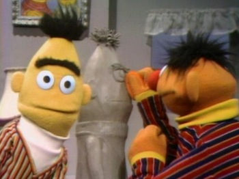 Bert and Ernie on Sesame Street?