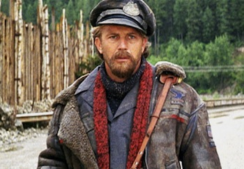 Kevin Costner in The Postman