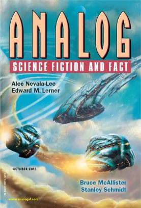 The October 2015 issue of Analog Science Fiction and Fact