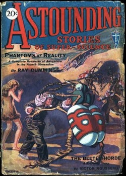 The first issue of Astounding Stories of Super-Science