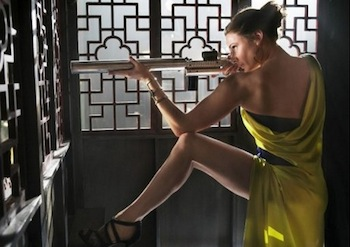 "Rebecca Ferguson in ""Mission: Impossible—Rogue Nation"""