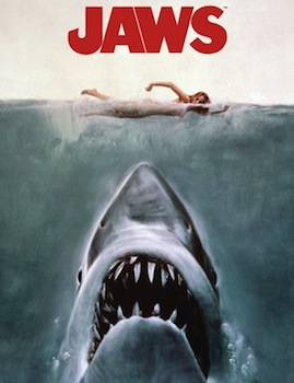 The poster for Jaws